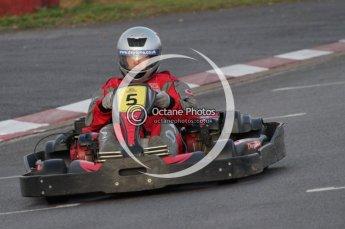 © Octane Photographic Ltd. 2011. Milton Keynes Daytona Karting, Forget-Me-Not Hospice charity racing. Sunday October 30th 2011. Digital Ref : 0194lw7d0140