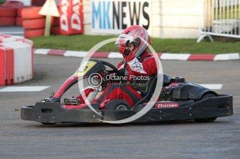 © Octane Photographic Ltd. 2011. Milton Keynes Daytona Karting, Forget-Me-Not Hospice charity racing. Sunday October 30th 2011. Digital Ref : 0194lw7d0286