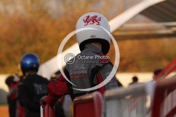 © Octane Photographic Ltd. 2011. Milton Keynes Daytona Karting, Forget-Me-Not Hospice charity racing. Jimmy Weeks of BadgerGP. Sunday October 30th 2011. Digital Ref : 0194lw7d0298
