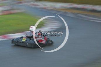 © Octane Photographic Ltd. 2011. Milton Keynes Daytona Karting, Forget-Me-Not Hospice charity racing. Sunday October 30th 2011. Digital Ref : 0194lw7d0439