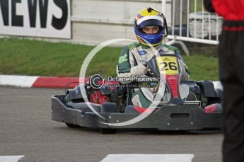 © Octane Photographic Ltd. 2011. Milton Keynes Daytona Karting, Forget-Me-Not Hospice charity racing. Sunday October 30th 2011. Digital Ref : 0194lw7d0665