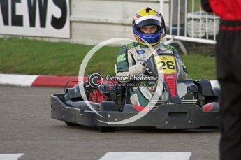 © Octane Photographic Ltd. 2011. Milton Keynes Daytona Karting, Forget-Me-Not Hospice charity racing. Sunday October 30th 2011. Digital Ref : 0194lw7d0665