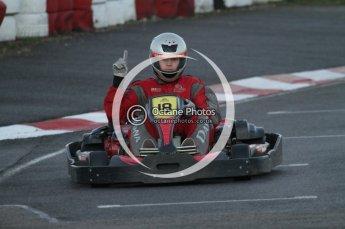 © Octane Photographic Ltd. 2011. Milton Keynes Daytona Karting, Forget-Me-Not Hospice charity racing. Sunday October 30th 2011. Digital Ref : 0194lw7d1079