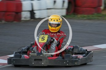 © Octane Photographic Ltd. 2011. Milton Keynes Daytona Karting, Forget-Me-Not Hospice charity racing. Sunday October 30th 2011. Digital Ref : 0194lw7d1156