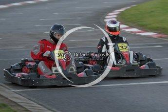 © Octane Photographic Ltd. 2011. Milton Keynes Daytona Karting, Forget-Me-Not Hospice charity racing. Sunday October 30th 2011. Digital Ref : 0194lw7d1207