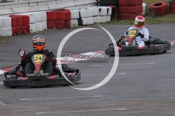 © Octane Photographic Ltd. 2011. Milton Keynes Daytona Karting, Forget-Me-Not Hospice charity racing. Sunday October 30th 2011. Digital Ref : 0194lw7d8592