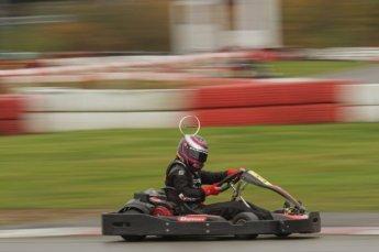 © Octane Photographic Ltd. 2011. Milton Keynes Daytona Karting, Forget-Me-Not Hospice charity racing. Sunday October 30th 2011. Digital Ref : 0194lw7d9078