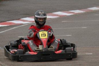 © Octane Photographic Ltd. 2011. Milton Keynes Daytona Karting, Forget-Me-Not Hospice charity racing. Sunday October 30th 2011. Digital Ref : 0194lw7d9122