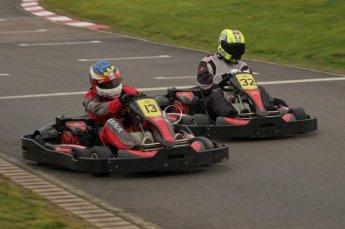© Octane Photographic Ltd. 2011. Milton Keynes Daytona Karting, Forget-Me-Not Hospice charity racing. Sunday October 30th 2011. Digital Ref : 0194lw7d9218