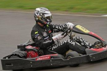 © Octane Photographic Ltd. 2011. Milton Keynes Daytona Karting, Forget-Me-Not Hospice charity racing. Sunday October 30th 2011. Digital Ref : 0194lw7d9314