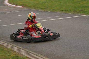 © Octane Photographic Ltd. 2011. Milton Keynes Daytona Karting, Forget-Me-Not Hospice charity racing. Sunday October 30th 2011. Digital Ref : 0194lw7d9325