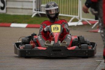 © Octane Photographic Ltd. 2011. Milton Keynes Daytona Karting, Forget-Me-Not Hospice charity racing. Sunday October 30th 2011. Digital Ref : 0194lw7d9453