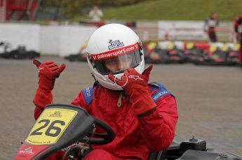 © Octane Photographic Ltd. 2011. Milton Keynes Daytona Karting, Forget-Me-Not Hospice charity racing. Sunday October 30th 2011. Digital Ref : 0194lw7d9580