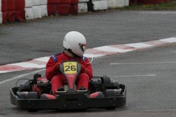 © Octane Photographic Ltd. 2011. Milton Keynes Daytona Karting, Forget-Me-Not Hospice charity racing. Sunday October 30th 2011. Digital Ref : 0194lw7d9681