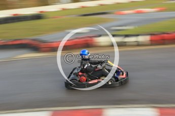 © Octane Photographic Ltd. 2011. Milton Keynes Daytona Karting, Forget-Me-Not Hospice charity racing. Sunday October 30th 2011. Digital Ref : 0194cb1d7879