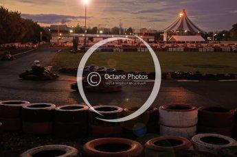 © Octane Photographic Ltd. 2011. Milton Keynes Daytona Karting, Forget-Me-Not Hospice charity racing. Sunday October 30th 2011. Digital Ref : 0194cb1d7951