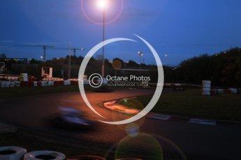 © Octane Photographic Ltd. 2011. Milton Keynes Daytona Karting, Forget-Me-Not Hospice charity racing. Sunday October 30th 2011. Digital Ref : 0194cb1d7965