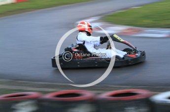 © Octane Photographic Ltd. 2011. Milton Keynes Daytona Karting, Forget-Me-Not Hospice charity racing. Sunday October 30th 2011. Digital Ref : 0194cb7d0022
