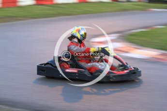 © Octane Photographic Ltd. 2011. Milton Keynes Daytona Karting, Forget-Me-Not Hospice charity racing. Sunday October 30th 2011. Digital Ref : 0194cb7d0043