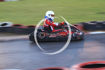 © Octane Photographic Ltd. 2011. Milton Keynes Daytona Karting, Forget-Me-Not Hospice charity racing. Sunday October 30th 2011. Digital Ref : 0194cb7d0087