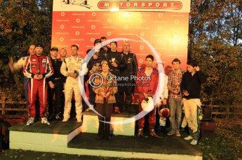 © Octane Photographic Ltd. 2011. Milton Keynes Daytona Karting, Forget-Me-Not Hospice charity racing. Sunday October 30th 2011. Digital Ref : 0194cb7d7996