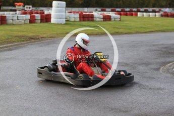 © Octane Photographic Ltd. 2011. Milton Keynes Daytona Karting, Forget-Me-Not Hospice charity racing. Sunday October 30th 2011. Digital Ref : 0194cb7d8313