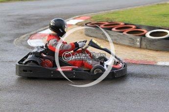 © Octane Photographic Ltd. 2011. Milton Keynes Daytona Karting, Forget-Me-Not Hospice charity racing. Sunday October 30th 2011. Digital Ref : 0194cb7d8323