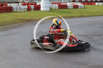 © Octane Photographic Ltd. 2011. Milton Keynes Daytona Karting, Forget-Me-Not Hospice charity racing. Sunday October 30th 2011. Digital Ref : 0194cb7d8332