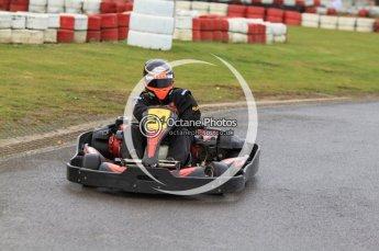 © Octane Photographic Ltd. 2011. Milton Keynes Daytona Karting, Forget-Me-Not Hospice charity racing. Sunday October 30th 2011. Digital Ref : 0194cb7d8379