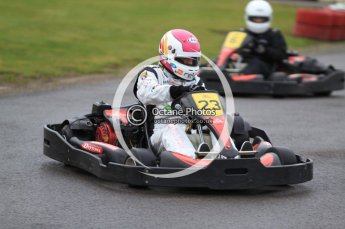 © Octane Photographic Ltd. 2011. Milton Keynes Daytona Karting, Forget-Me-Not Hospice charity racing. Sunday October 30th 2011. Digital Ref : 0194cb7d8428