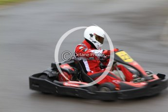 © Octane Photographic Ltd. 2011. Milton Keynes Daytona Karting, Forget-Me-Not Hospice charity racing. Sunday October 30th 2011. Digital Ref : 0194cb7d8541