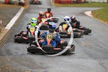 © Octane Photographic Ltd. 2011. Milton Keynes Daytona Karting, Forget-Me-Not Hospice charity racing. Sunday October 30th 2011. Digital Ref : 0194cb7d8590