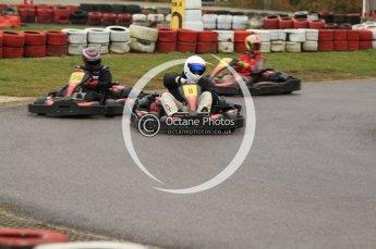 © Octane Photographic Ltd. 2011. Milton Keynes Daytona Karting, Forget-Me-Not Hospice charity racing. Sunday October 30th 2011. Digital Ref : 0194cb7d8619