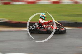 © Octane Photographic Ltd. 2011. Milton Keynes Daytona Karting, Forget-Me-Not Hospice charity racing. Sunday October 30th 2011. Digital Ref : 0194cb7d8672
