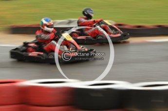 © Octane Photographic Ltd. 2011. Milton Keynes Daytona Karting, Forget-Me-Not Hospice charity racing. Sunday October 30th 2011. Digital Ref : 0194cb7d8702