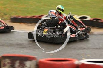 © Octane Photographic Ltd. 2011. Milton Keynes Daytona Karting, Forget-Me-Not Hospice charity racing. Sunday October 30th 2011. Digital Ref : 0194cb7d8755