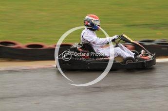 © Octane Photographic Ltd. 2011. Milton Keynes Daytona Karting, Forget-Me-Not Hospice charity racing. Sunday October 30th 2011. Digital Ref : 0194cb7d8765