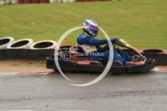 © Octane Photographic Ltd. 2011. Milton Keynes Daytona Karting, Forget-Me-Not Hospice charity racing. Sunday October 30th 2011. Digital Ref : 0194cb7d8797
