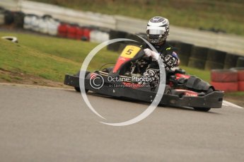 © Octane Photographic Ltd. 2011. Milton Keynes Daytona Karting, Forget-Me-Not Hospice charity racing. Sunday October 30th 2011. Digital Ref : 0194cb7d8824