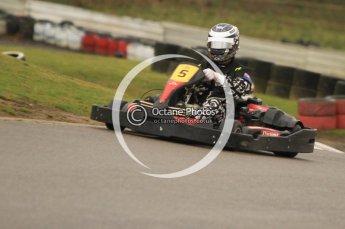 © Octane Photographic Ltd. 2011. Milton Keynes Daytona Karting, Forget-Me-Not Hospice charity racing. Sunday October 30th 2011. Digital Ref : 0194cb7d8824