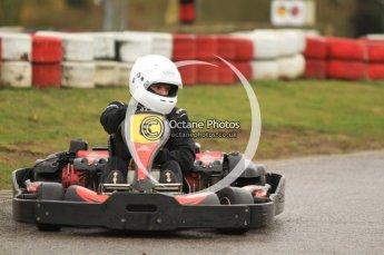 © Octane Photographic Ltd. 2011. Milton Keynes Daytona Karting, Forget-Me-Not Hospice charity racing. Sunday October 30th 2011. Digital Ref : 0194cb7d8865