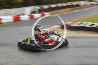 © Octane Photographic Ltd. 2011. Milton Keynes Daytona Karting, Forget-Me-Not Hospice charity racing. Sunday October 30th 2011. Digital Ref : 0194cb7d9061