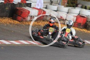 © Octane Photographic Ltd. 2011. Milton Keynes Daytona Karting, Forget-Me-Not Hospice charity racing. Sunday October 30th 2011. Digital Ref : 0194cb7d9166