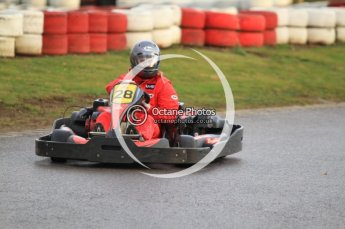 © Octane Photographic Ltd. 2011. Milton Keynes Daytona Karting, Forget-Me-Not Hospice charity racing. Sunday October 30th 2011. Digital Ref : 0194cb7d9221