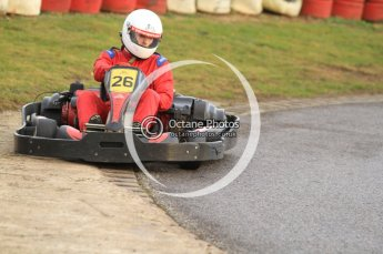 © Octane Photographic Ltd. 2011. Milton Keynes Daytona Karting, Forget-Me-Not Hospice charity racing. Sunday October 30th 2011. Digital Ref : 0194cb7d9233