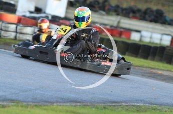 © Octane Photographic Ltd. 2011. Milton Keynes Daytona Karting, Forget-Me-Not Hospice charity racing. Sunday October 30th 2011. Digital Ref : 0194cb7d9471