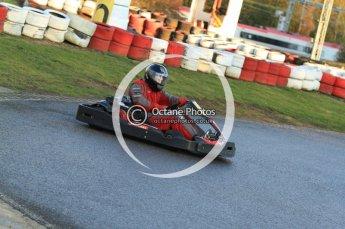 © Octane Photographic Ltd. 2011. Milton Keynes Daytona Karting, Forget-Me-Not Hospice charity racing. Sunday October 30th 2011. Digital Ref : 0194cb7d9483