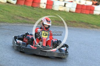 © Octane Photographic Ltd. 2011. Milton Keynes Daytona Karting, Forget-Me-Not Hospice charity racing. Sunday October 30th 2011. Digital Ref : 0194cb7d9486