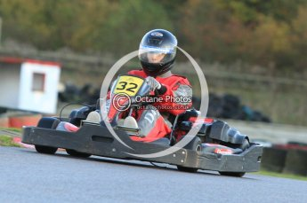 © Octane Photographic Ltd. 2011. Milton Keynes Daytona Karting, Forget-Me-Not Hospice charity racing. Sunday October 30th 2011. Digital Ref : 0194cb7d9497