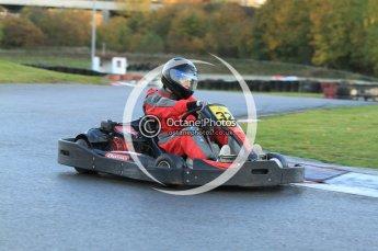 © Octane Photographic Ltd. 2011. Milton Keynes Daytona Karting, Forget-Me-Not Hospice charity racing. Sunday October 30th 2011. Digital Ref : 0194cb7d9542